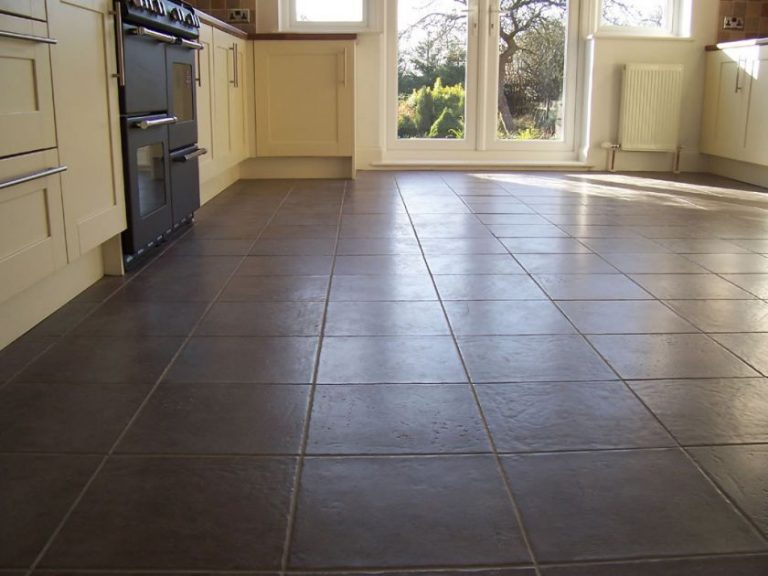 Floor kitchen tiles