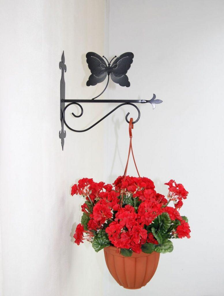 Подвесная подставка под цветы своими руками