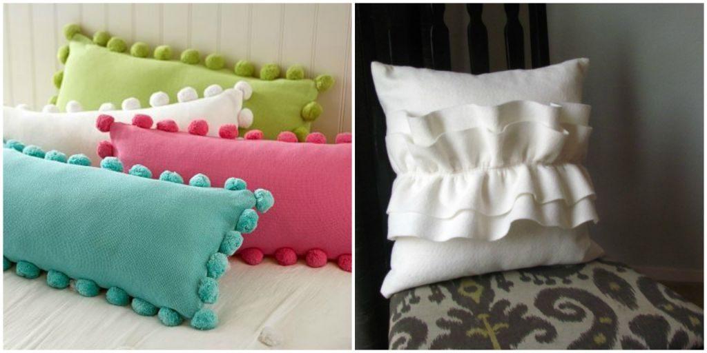 Как сшить обычную подушку 74