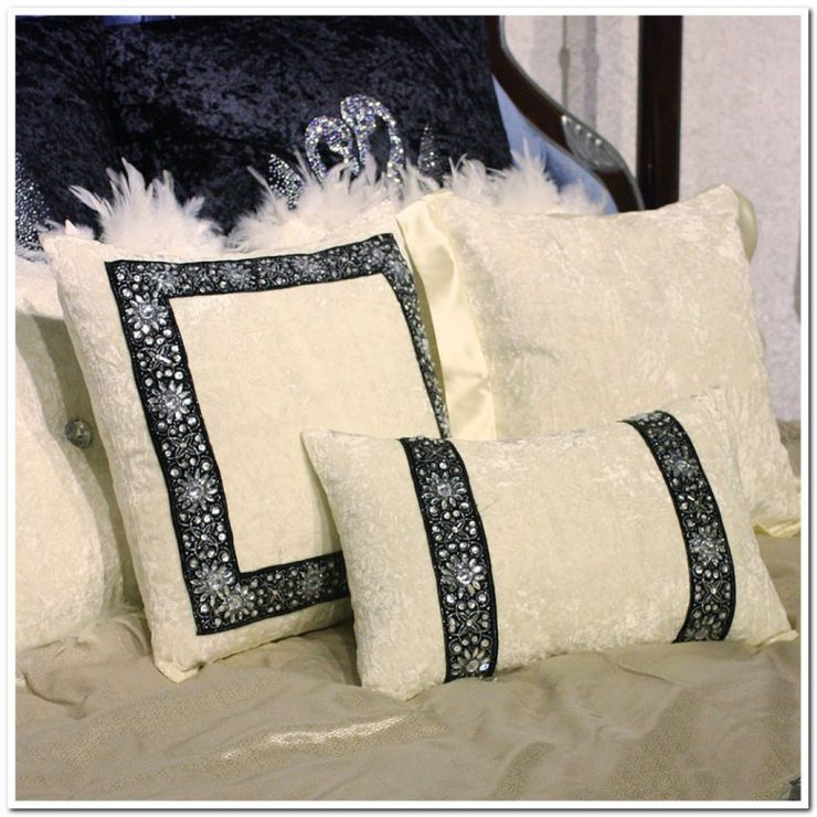 Диванные подушки сделанные своими руками 35