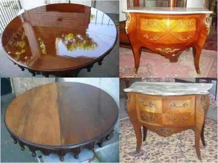 Как реставрировать стол своими руками фото 95