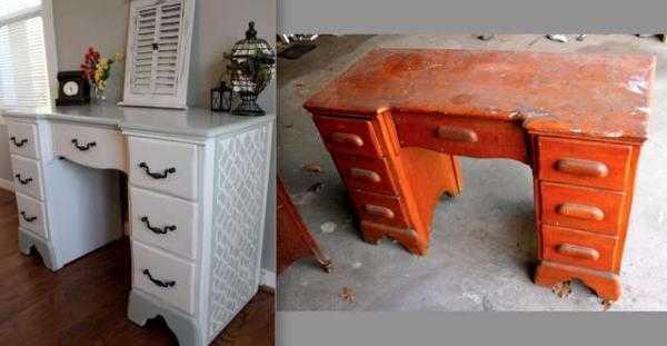 Как отреставрировать полированный стол своими руками