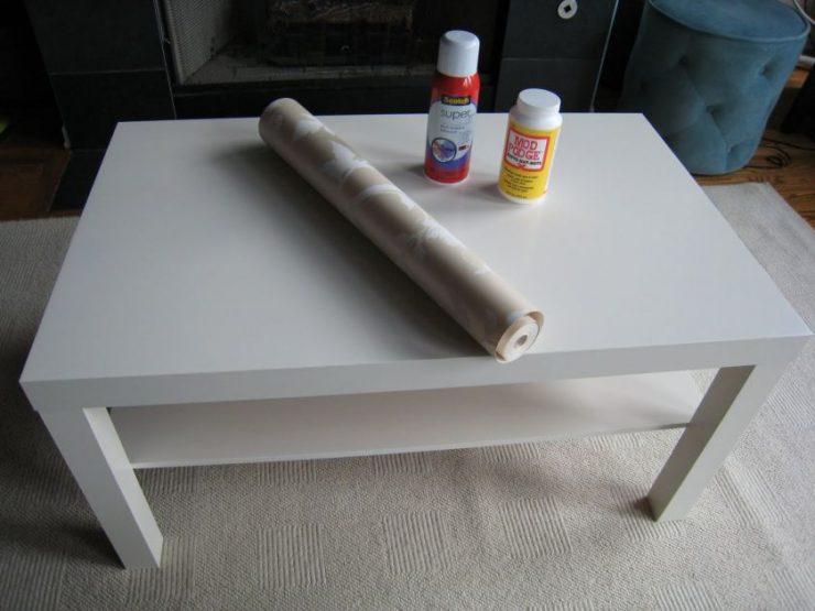 Декорирование старого стола своими руками фото