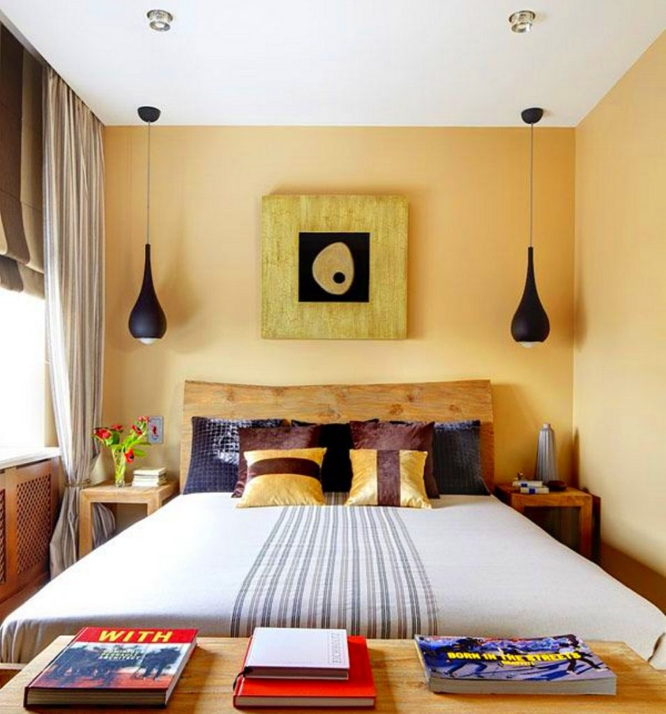 Дизайн маленькой спальни 7 кв.м