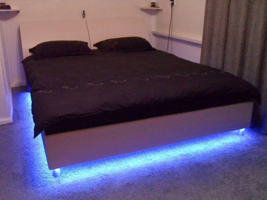 Подсветка кровати своими руками