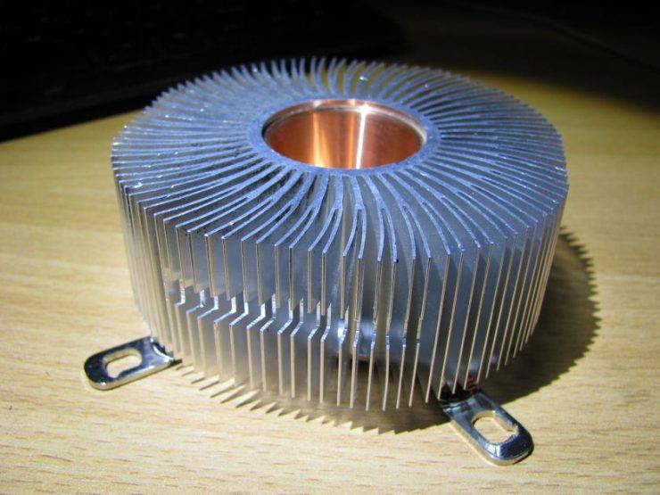Как сделать радиатор на светодиод 100