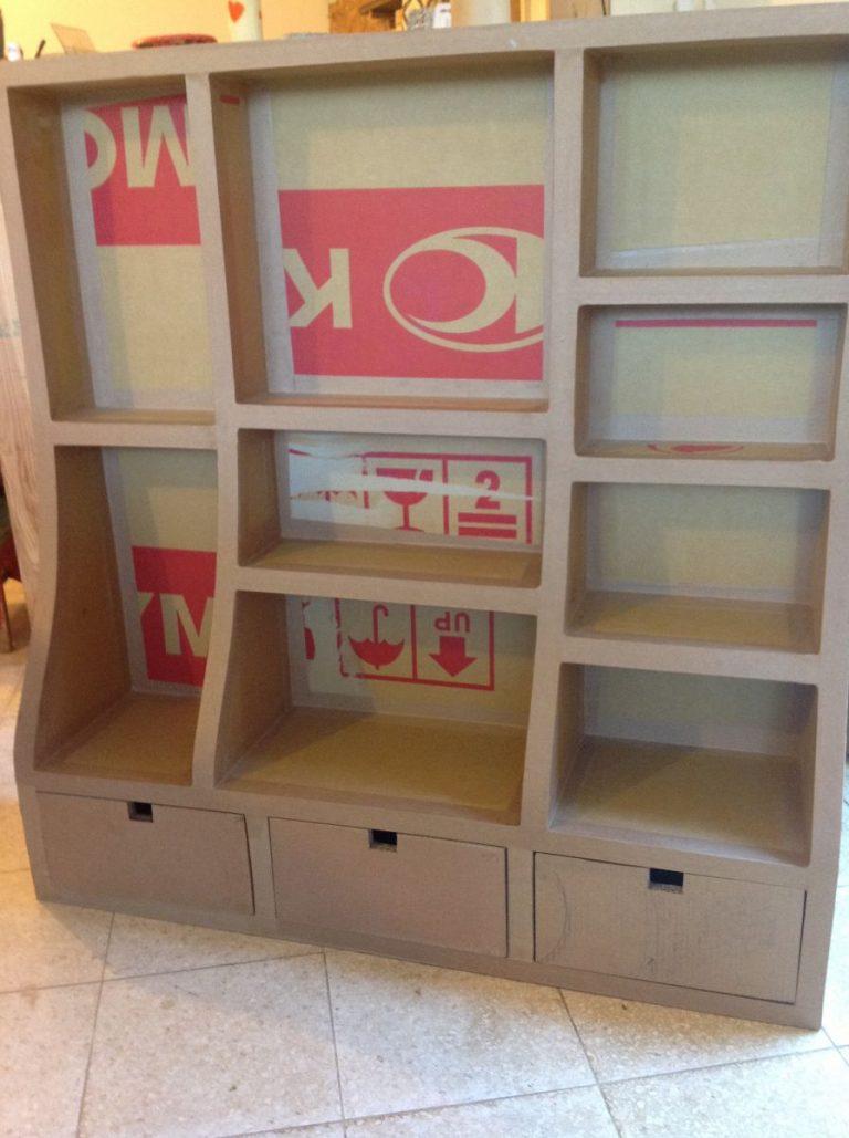 Мебель из картона своими руками фото