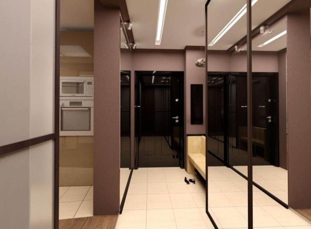 Дизайн интерьера прихожей в квартире. фото маленькой прихоже.