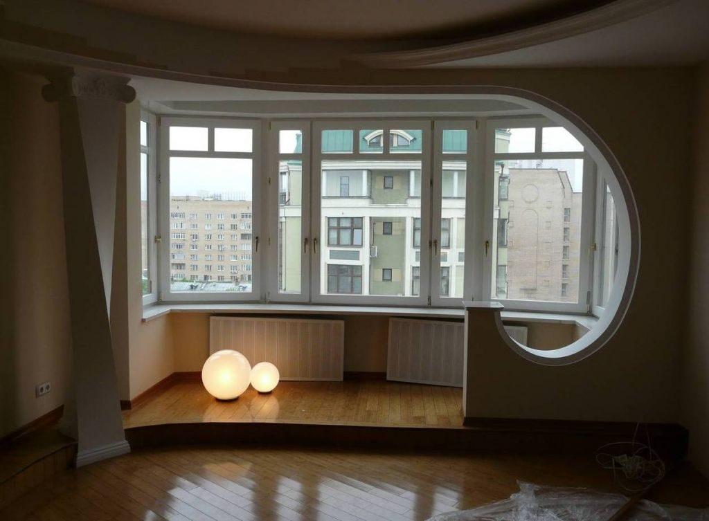 Объединение балкона с комнатой: как правильно объединить лод.