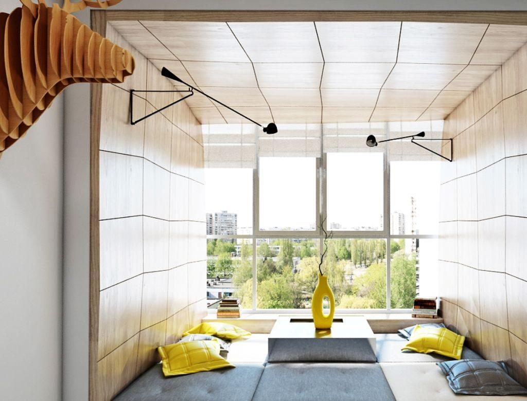 Освещение на балконе - оформляем правильно! 100 фото примеро.