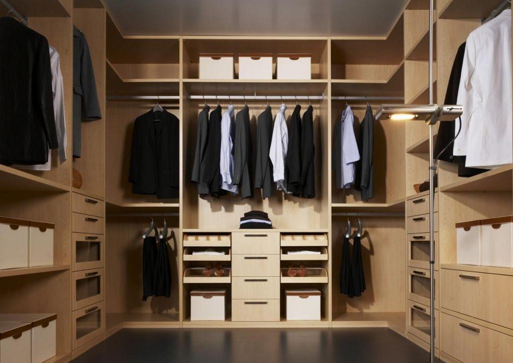Гардеробные комнаты на заказ - услуги в москве в разделе меб.