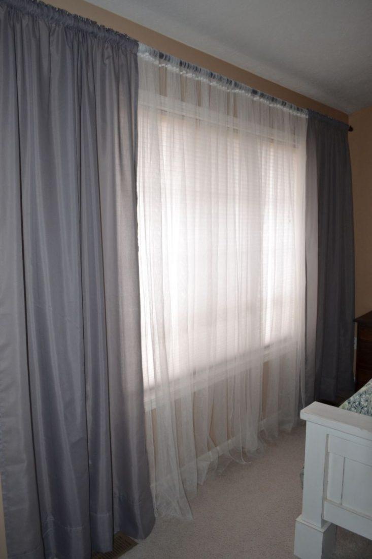 фото гардины и шторы в интерьере