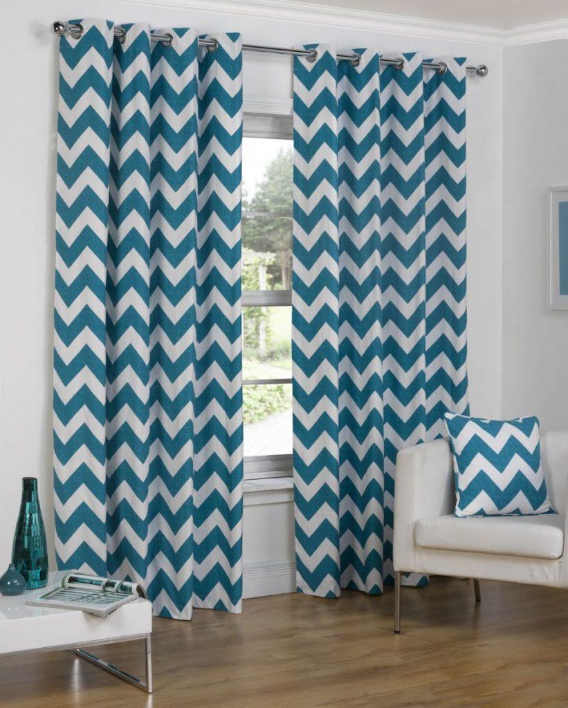 Chevron curtains walmart