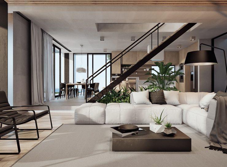 Дизайн интерьера частного дома — 150 фото лучших идей по оформлению