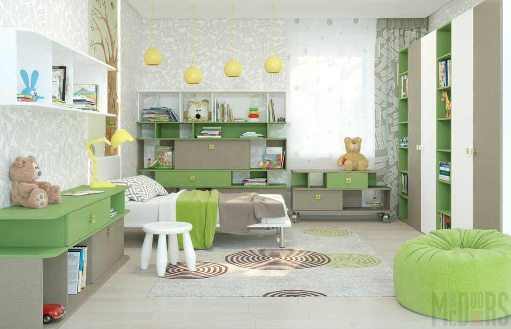 Дизайн детской комнаты — 140 фото современного интерьера для детей. Новинки 2017-2018 года!