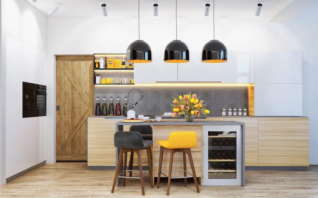 новинки дизайна кухни 2019