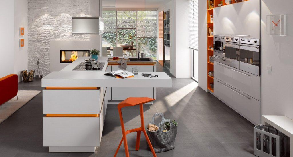 стильные кухни 2019