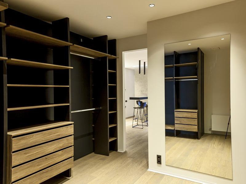 мебель своими руками в гардеробной