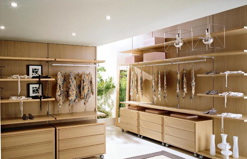 Панельная система в гардеробной