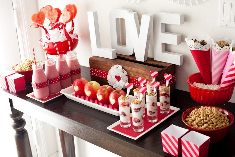 Идеи романтического декора к 14 февраля