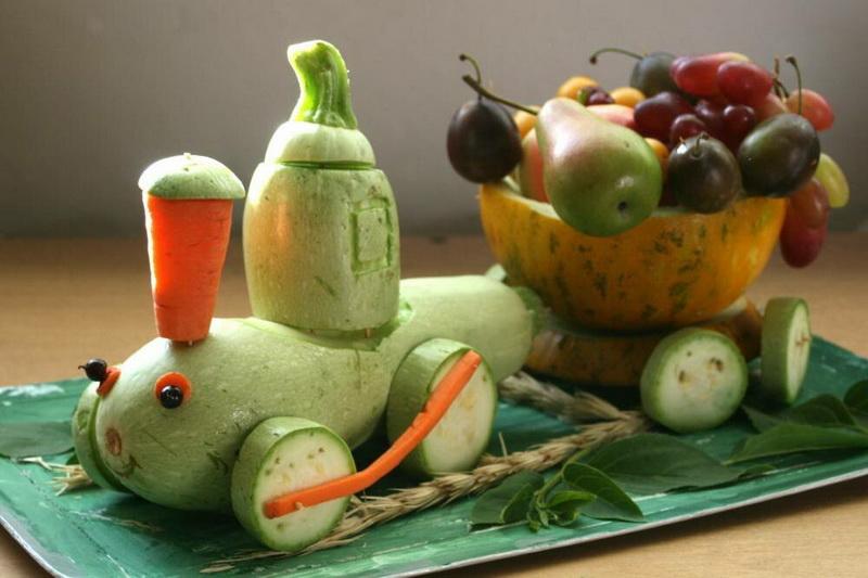 Лучшие идеи поделок из овощей своими руками (70+ фото)