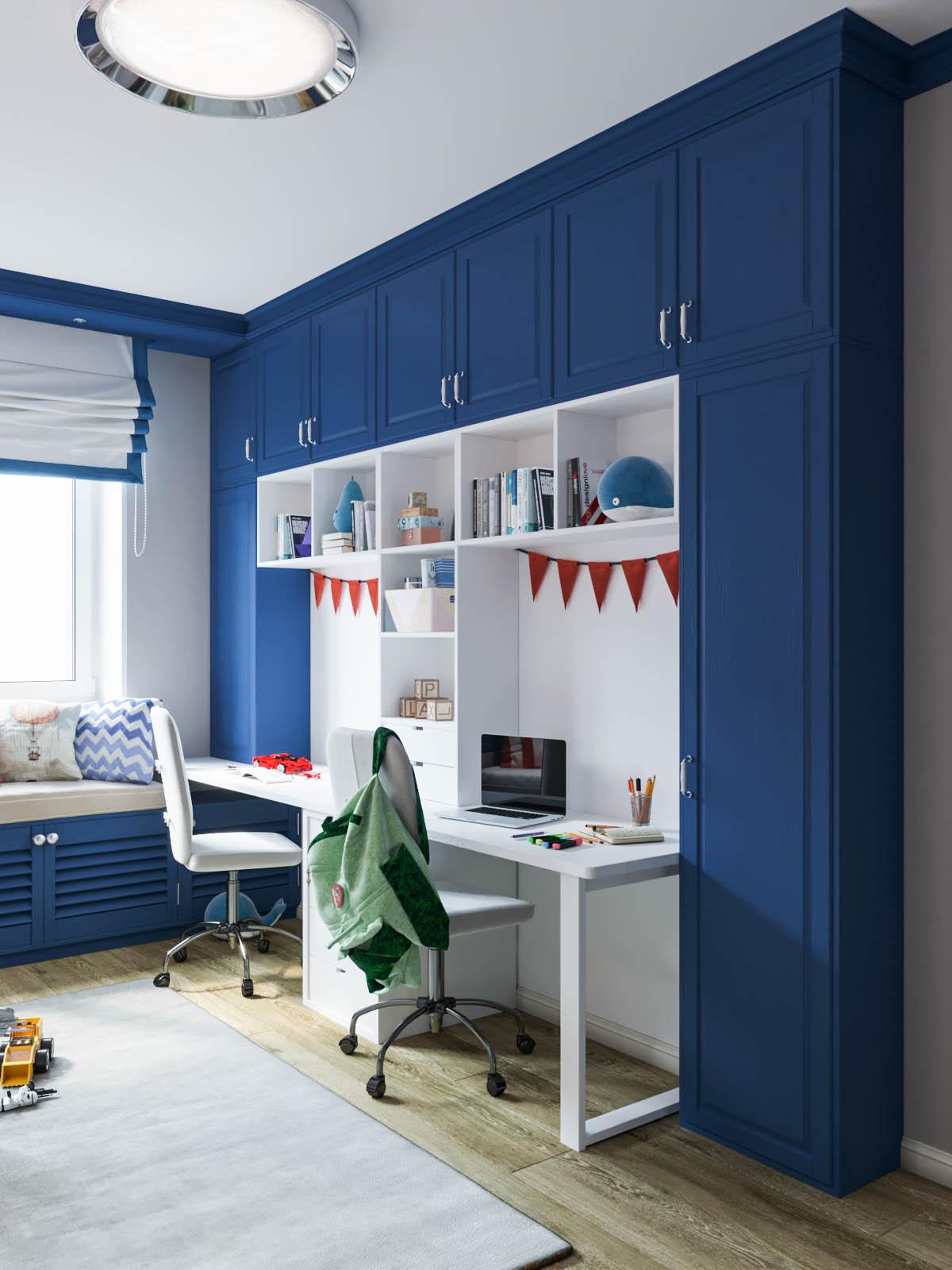 мебель в детскую комнату для двоих мальчиков