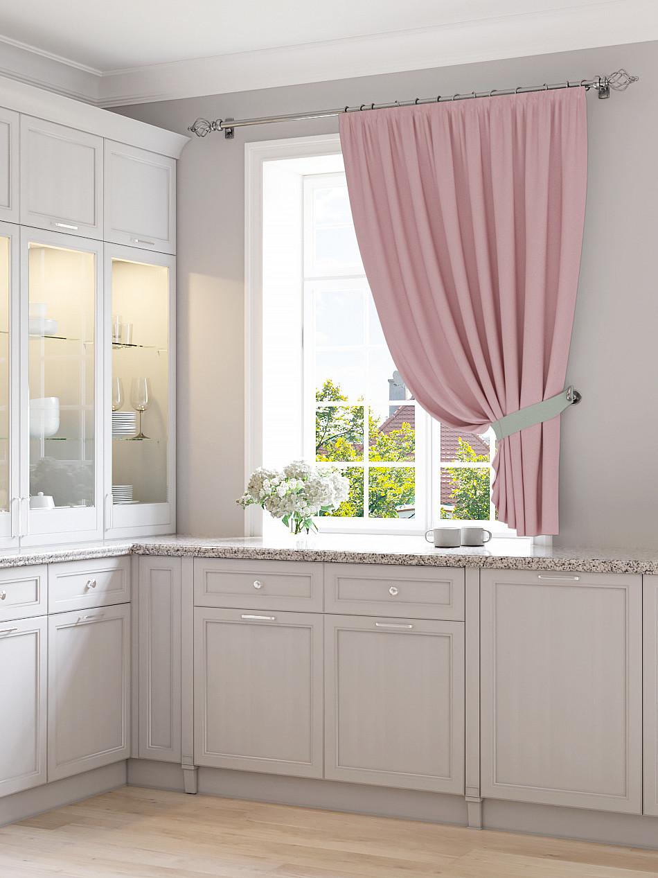 шторы на кухню на одну сторону