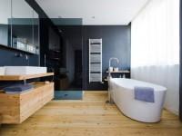 Дизайн ванной комнаты в современном стиле: обзор лучших идей + 120 фото