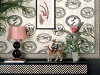 Текстильные обои: удачный выбор и роскошь в интерьере (100 фото дизайна)