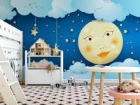 Идеи для оформления стен фотообоями в детской комнате (100 фото)