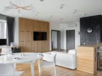 Дизайн однокомнатной квартиры — 150 фото идей необычного оформления интерьера