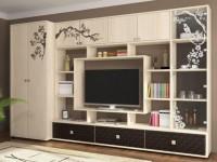 Мебельная стенка: «изюминка» уютной гостиной