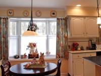 Шторы на кухню — 180 фото новинок дизайна кухонных штор
