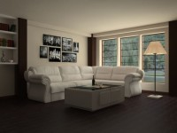 Угловые диваны. Гостиная против спальни