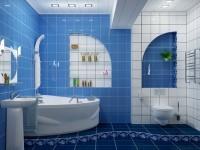 Отделка ванной комнаты пластиковыми панелями: советы дизайнеров