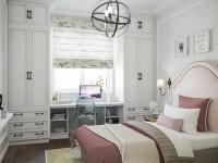 Интересные идеи интерьера комнаты для девочки-подростка (100 фото)