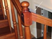 Как крепить перила к балясинам деревянной лестницы: несколько лайфхаков