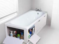 Как правильно выбрать экран под ванну: различные виды и советы по подбору (100+ фото)