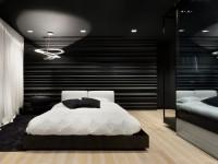 Спальня в черно-белых тонах: лучшие идеи дизайна и нюансы по оформлению