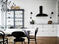 Кухня без навесных шкафов: практично или модно (70+ фото)