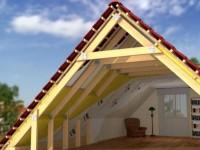 Как сделать двухскатную крышу частного дома своими руками