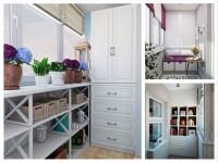 Шкафы на лоджии или балконе: особенности, виды и фотогалерея