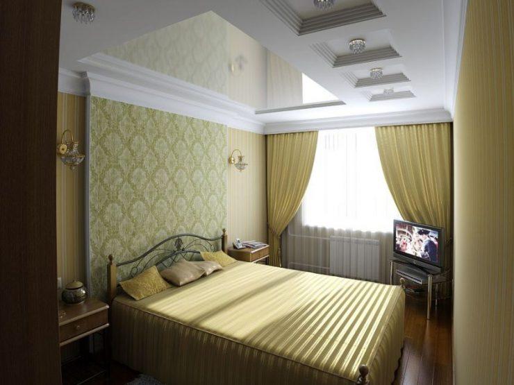 дизайн маленькой спальни в хрущевке реальные фото 2