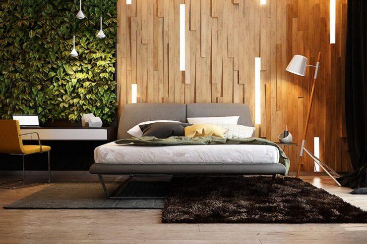 Различные светильники для спальни