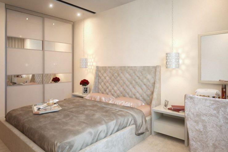 дизайн светлой спальни 5