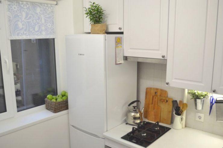 дизайн кухни в хрущевке 5 кв 3