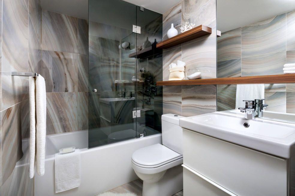 дизайн ванной комнаты фото 2019 1